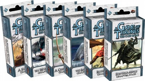 A Game of Thrones: A Time For Ravens Chapter Pack Set [6 Packs/1 of each]