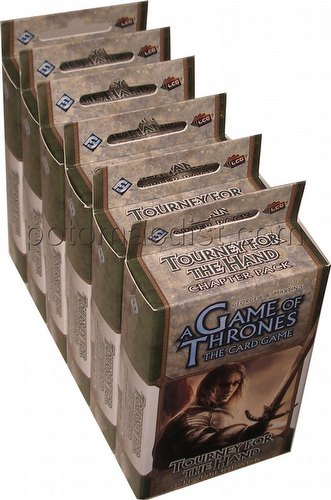 A Game of Thrones: A Tale of Champions - Tourney for the Hand Chapter Pack Box [6 Packs]