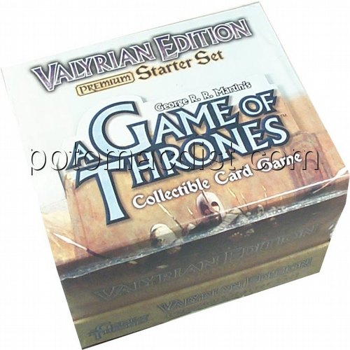 A Game of Thrones: Valyrian Premium Starter Deck Box