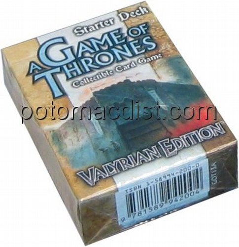 A Game of Thrones: Valyrian Edition Starter Deck