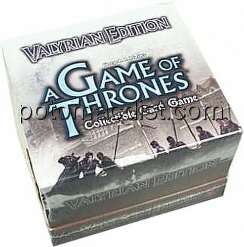 A Game of Thrones: Valyrian Edition Starter Deck Box