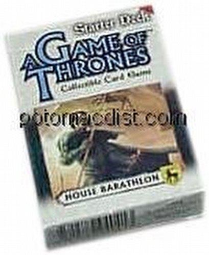 A Game of Thrones: Westeros Baratheon Starter Deck