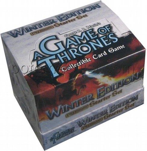 A Game of Thrones: Winter Edition Premium Starter Deck Box