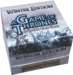 A Game of Thrones: Winter Edition Starter Deck Box