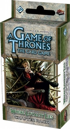 A Game of Thrones: A Tale of Champions - Where Loyalty Lies Chapter Pack Box [6 Packs]