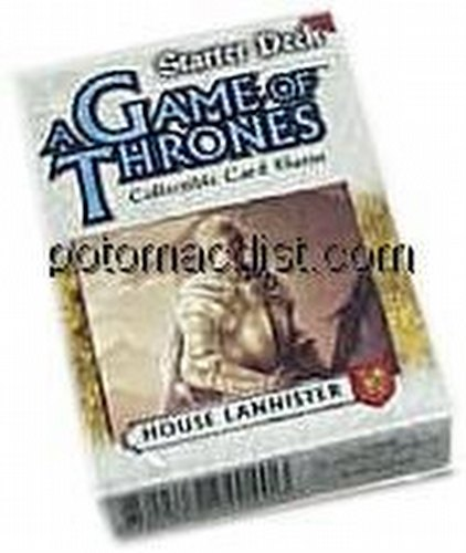 A Game of Thrones: Westeros Lannister Starter Deck