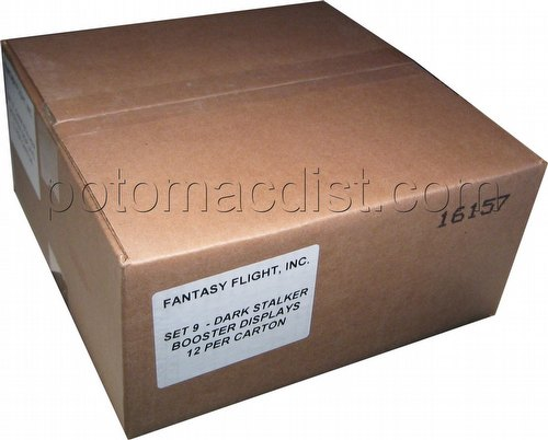 Universal Fighting System [UFS]: Darkstalkers Realm of Midnight Booster Box Case [12 boxes]