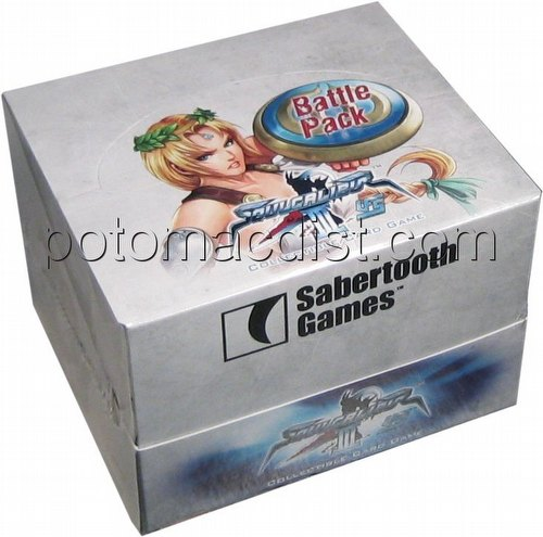 UFS: Soulcalibur III Siegfried Vs. Sophitia Battle Pack Box