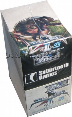 Universal Fighting System [UFS]: Soulcalibur III Soul Arena Booster Box