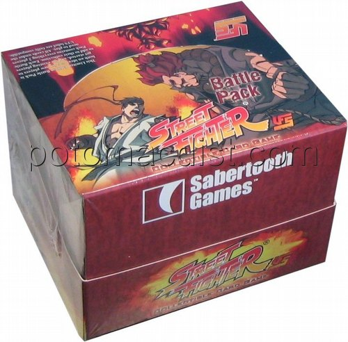 Universal Fighting System [UFS]: Street Fighter Ryu vs. Akuma Battle Pack Box