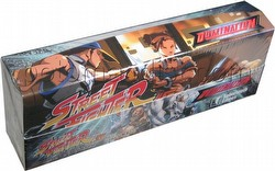 Universal Fighting System [UFS]: Street Fighter Domination Starter Deck Box
