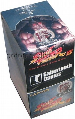 Universal Fighting System [UFS]: Street Fighter The Dark Path Booster Box