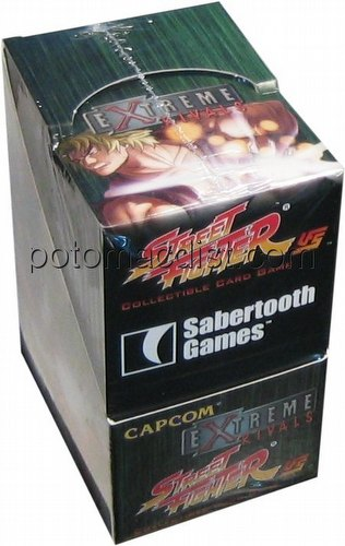 Universal Fighting System [UFS]: Street Fighter Extreme Rivals Booster Box