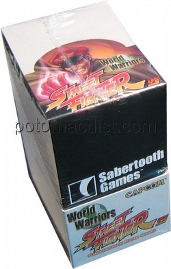 Universal Fighting System [UFS]: Street Fighter World Warrior Booster Box