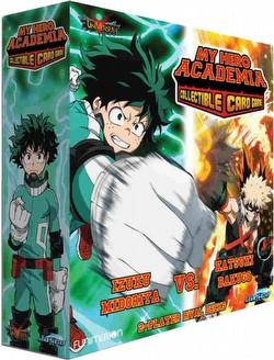 My Hero Academia: Two-Player Rival Decks - Izuku Midoriya Vs Katsuki Bakugo Box