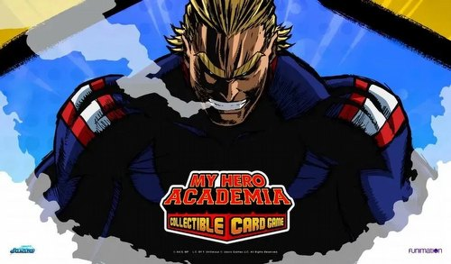 UniVersus: My Hero Academia All Might Playmat