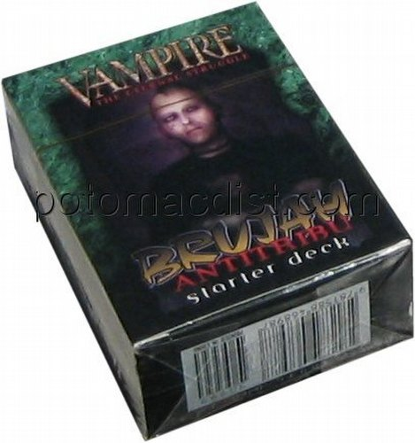 Vampire: The Eternal Struggle CCG Third (3rd) Edition Brujah Antitribu Starter Deck