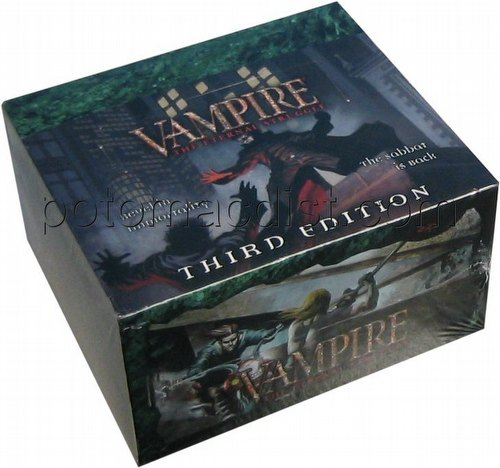 Vampire: The Eternal Struggle CCG Third (3rd) Edition Booster Box