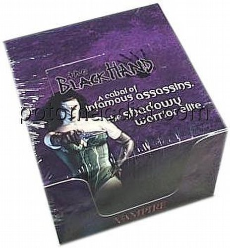 Vampire: The Eternal Struggle CCG Black Hand Preconstructed Starter Deck Box