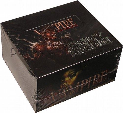 Vampire: The Eternal Struggle CCG Ebony Kingdom Booster Box