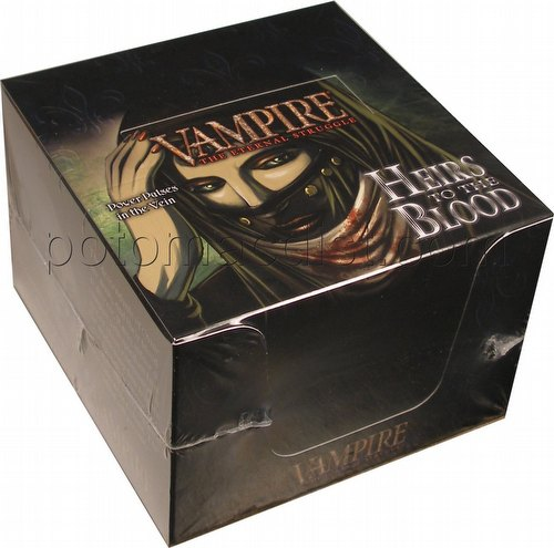 Vampire: The Eternal Struggle CCG Heirs to the Blood Starter Deck Box