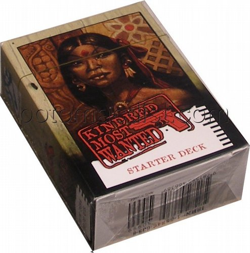 Vampire: The Eternal Struggle CCG Kindred Most Wanted Anathema Preconstructed Starter Deck