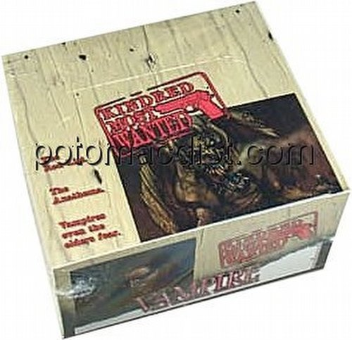 Vampire: The Eternal Struggle CCG Kindred Most Wanted Booster Box