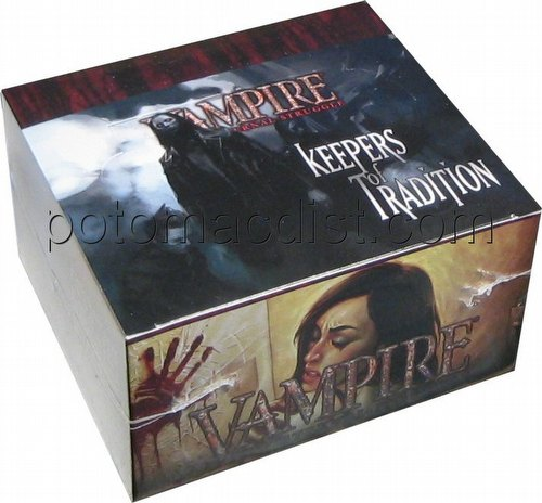 Vampire: The Eternal Struggle CCG Keepers of Tradition Booster Box