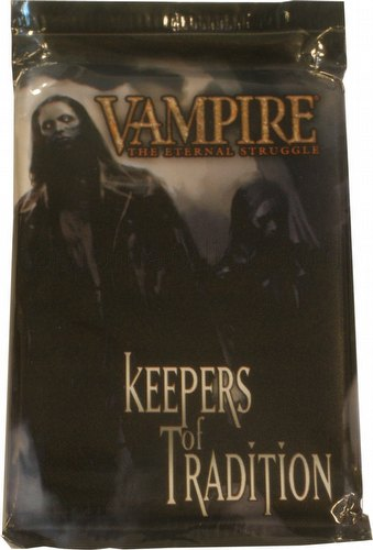 Vampire: The Eternal Struggle CCG Keepers of Tradition Booster Pack