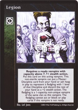 Vampire: The Eternal Struggle CCG Legion Promo Card