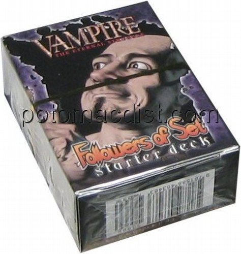 Vampire: The Eternal Struggle CCG Lords of the Night Followers of Set Starter Deck