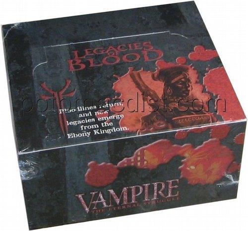 Vampire: The Eternal Struggle CCG Legacies of Blood Booster Box