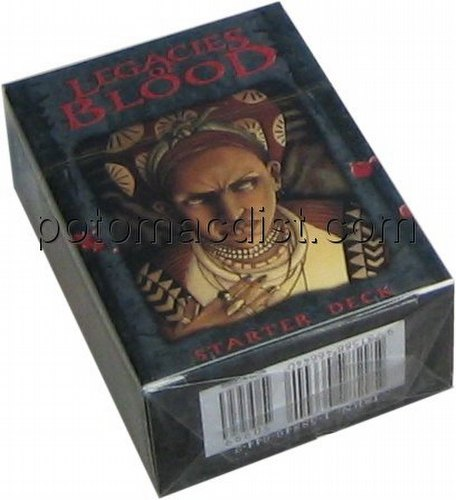 Vampire: The Eternal Struggle CCG Legacies of Blood Guruhi Starter Deck