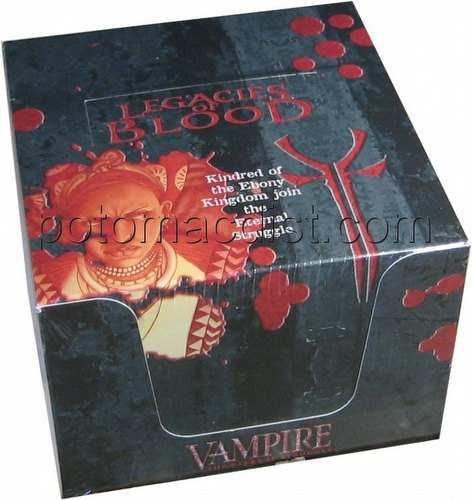 Vampire: The Eternal Struggle CCG Legacies of Blood Preconstructed Starter Deck Box