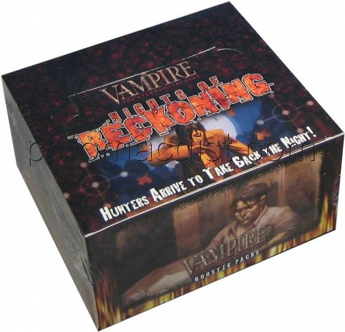 Vampire: The Eternal Struggle CCG Nights of Reckoning Booster Box