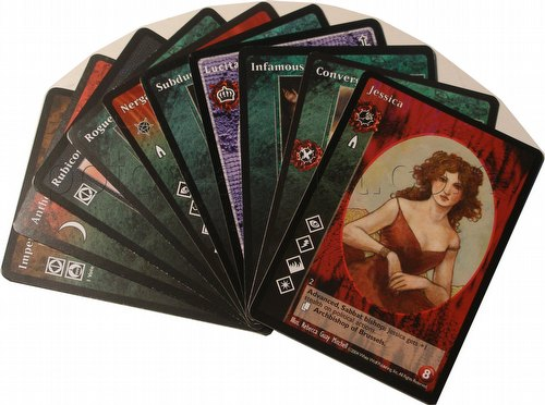 Vampire: The Eternal Struggle CCG Promo Card Lot
