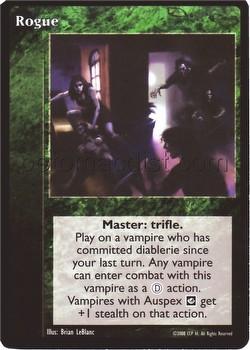 Vampire: The Eternal Struggle CCG Rogue Promo Card