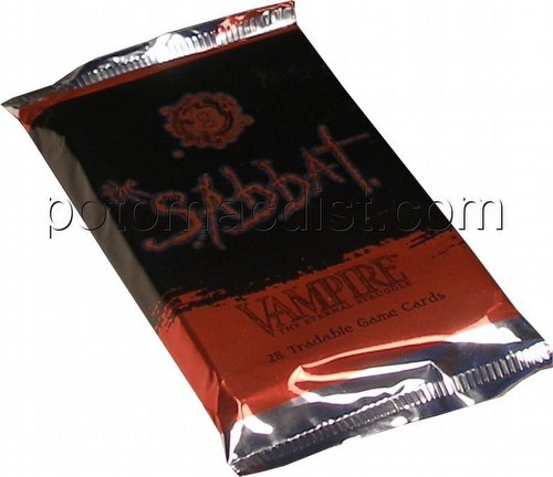 Vampire: The Eternal Struggle CCG The Sabbat Booster Pack