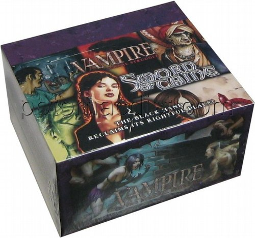 Vampire: The Eternal Struggle CCG Sword of Caine Booster Box