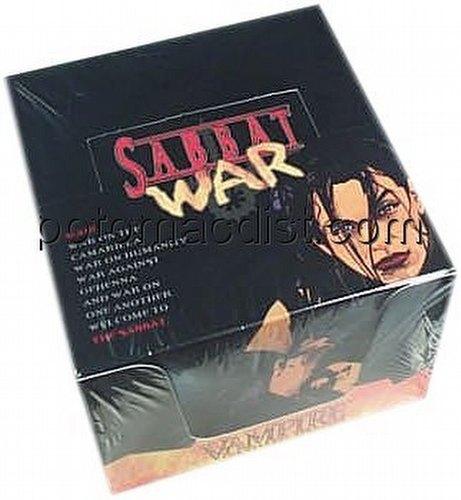 Vampire: The Eternal Struggle CCG Sabbat War Preconstructed Starter Deck Box