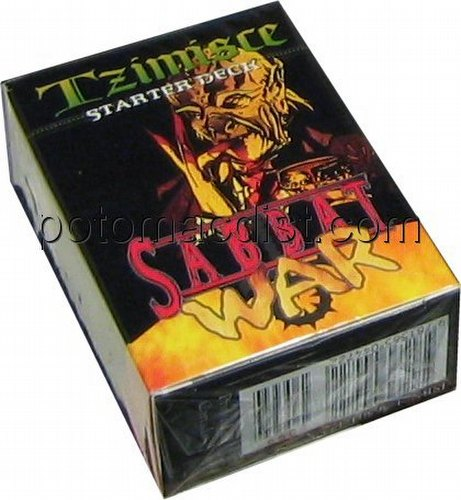 Vampire: The Eternal Struggle CCG Sabbat War Tzimisce Starter Deck