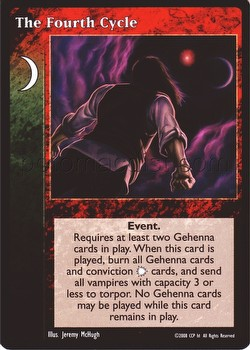 Vampire: The Eternal Struggle CCG The Fourth Cycle Promo Card