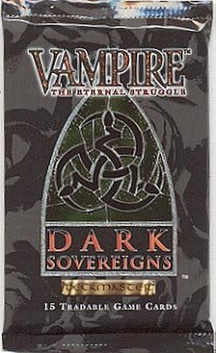 Vampire: The Eternal Struggle CCG Dark Sovereigns Booster Pack