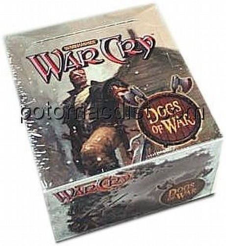 WarCry CCG: Dogs of War Booster Box