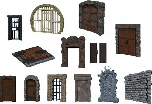 WarLock Dungeon Tiles: Doors & Archways Set Box