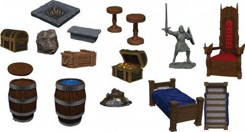 WarLock Dungeon Tiles: Dungeon Dressings Set Box