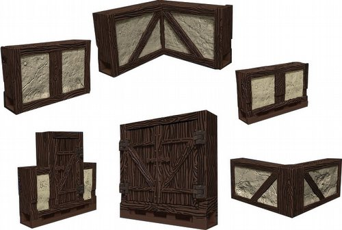 WarLock Dungeon Tiles: Town & Country Set Box