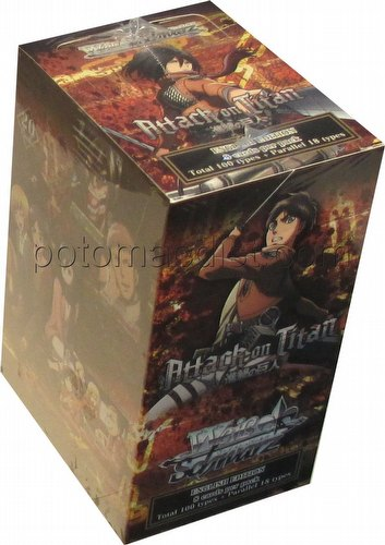 Weiss Schwarz (WeiB Schwarz): Attack on Titan Booster Box [English]