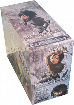 Weiss Schwarz (WeiB Schwarz): Attack on Titan Trial Deck Box [English]