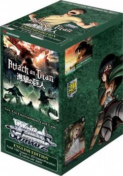 Weiss Schwarz (WeiB Schwarz): Attack on Titan Volume 2 Booster Box [English]